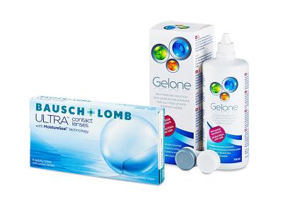Bausch + Lomb ULTRA (6 kom leća) + Gelone 360 ml