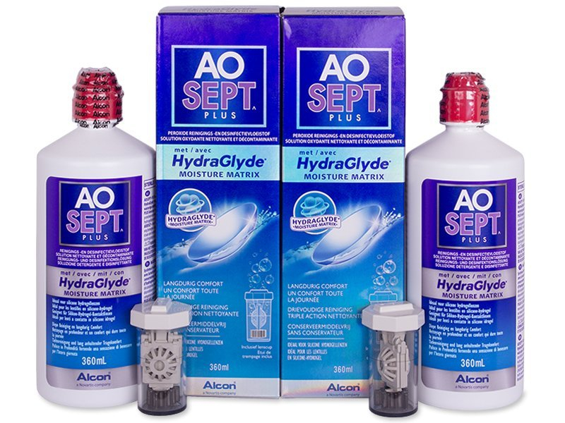 Otopina AO SEPT PLUS HydraGlyde 2x360ml