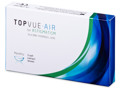 TopVue Air for Astigmatism (3 komleća)