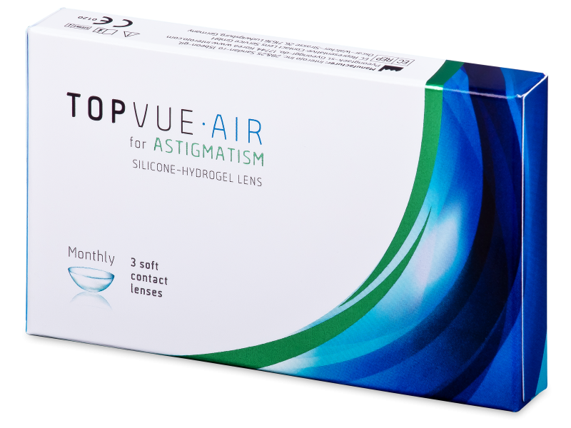 TopVue Air for Astigmatism (3 kom leća)