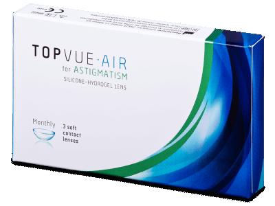 TopVue Air for Astigmatism (3 komleća) - Torične kontaktne leće