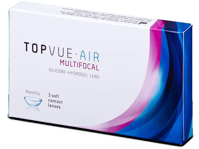 TopVue Air Multifocal (3 kom leća) - Multifokalne kontaktne leće