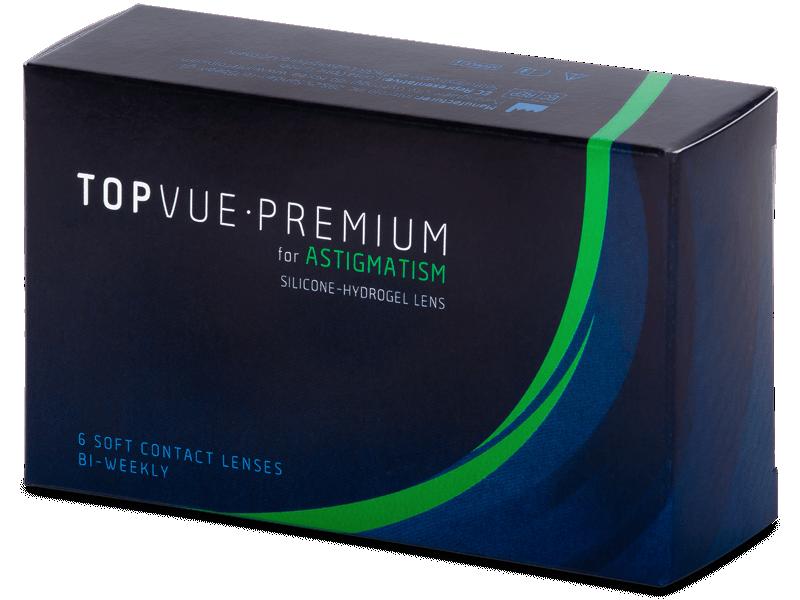 TopVue Premium for Astigmatism (6kom leća) - Torične kontaktne leće