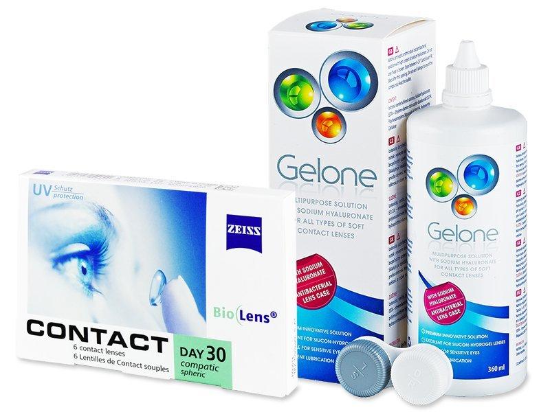 Carl Zeiss Contact Day 30 Compatic (6 kom leća) + Gelone 360 ml - Ponuda paketa