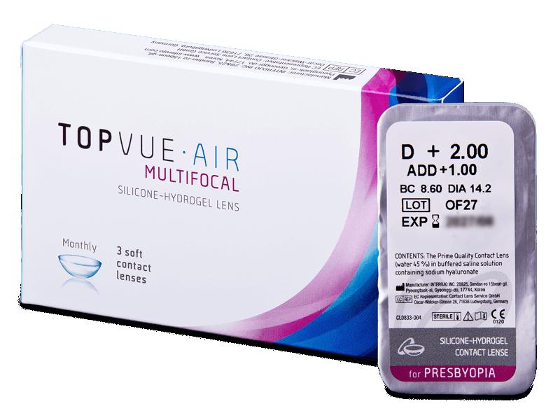 TopVue Air Multifocal (1kom leća) - Multifokalne kontaktne leće