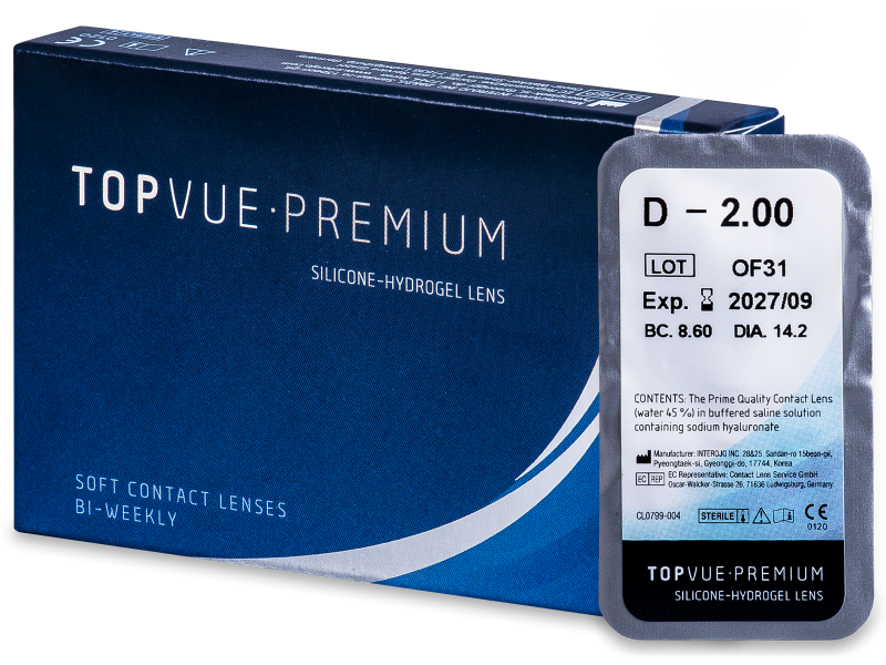 TopVue Premium (1kom leća) - Dvotjedne kontaktne leće