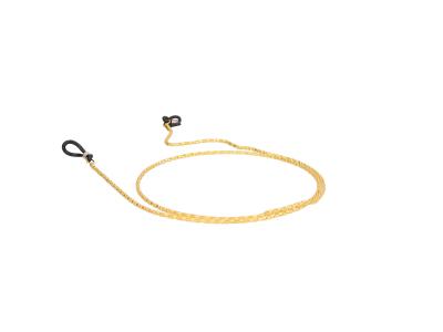 Metalna špagica za naočale BC15 - Zlatna