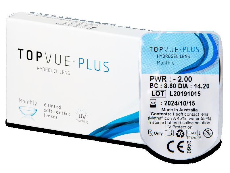 TopVue Plus (1kom leća) - Mjesečne kontaktne leće
