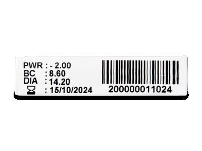TopVue Plus (1kom leća) - Pregled parametara leća