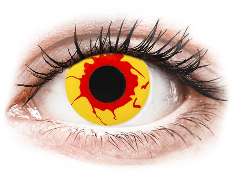 ColourVUE Crazy Lens - Reignfire - jednodnevne leće bez dioptrije (2kom leća) - Kontaktne leće u boji