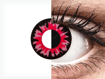 ColourVUE Crazy Lens - Volturi - jednodnevne leće bez dioptrije (2kom leća)