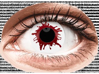ColourVUE Crazy Lens - Wild Blood - jednodnevne leće bez dioptrije (2kom leća)