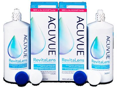 Otopina Acuvue RevitaLens 2x 360 ml