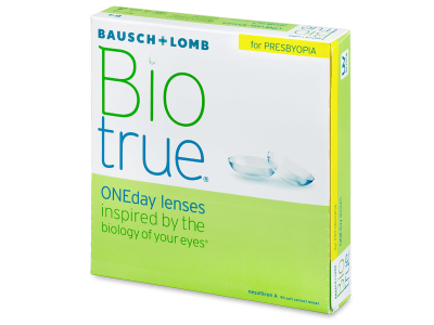 Biotrue ONEday for Presbyopia (90 komada leća)