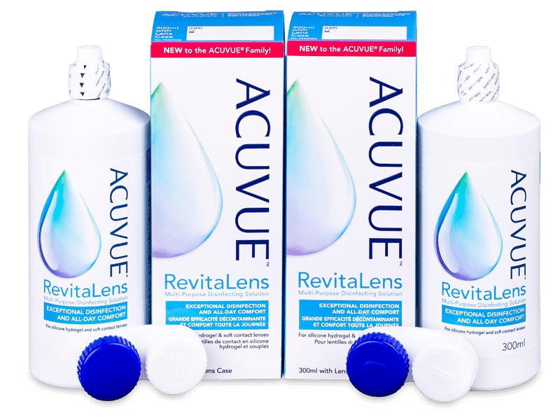 Otopina Acuvue RevitaLens 2x 300 ml  - Ekonomično duplo pakiranje otopine