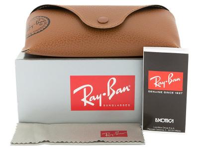 Ray-Ban Wayfarer RB2140 - 954  - Preview pack (illustration photo)