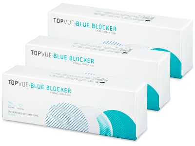 TopVue Blue Blocker (90 kom leća)