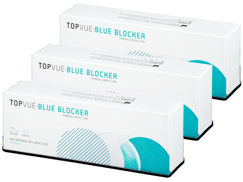 TopVue Blue Blocker (90 kom leća) - Jednodnevne kontaktne leće