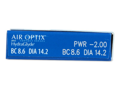 Air Optix plus HydraGlyde (6 kom leća) - Pregled parametara leća
