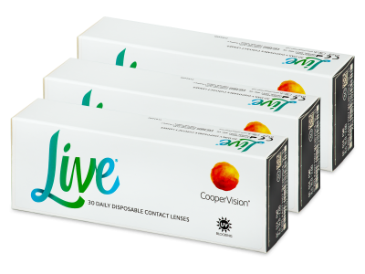 Live Daily Disposable (90 kom leća)