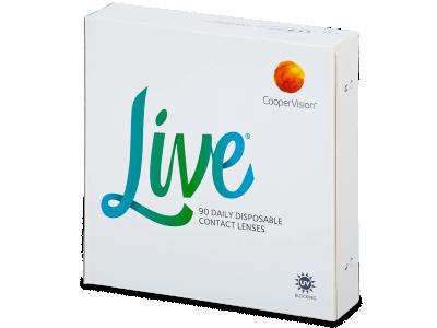 Live Daily Disposable (90 kom leća)