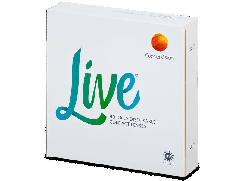 Live Daily Disposable (90 kom leća) - Jednodnevne kontaktne leće