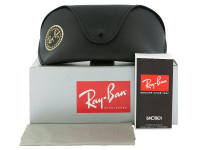 Ray-Ban  Top Bar RB3183 - 004/71  - Preview pack (illustration photo)
