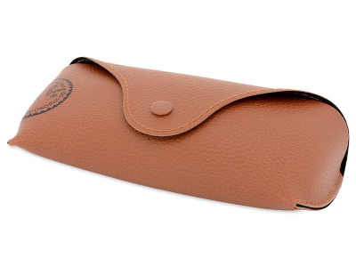 Ray-Ban RB3449 - 001/13  - Original leather case (illustration photo)