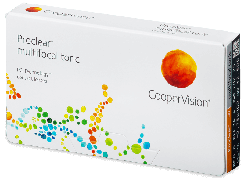 Proclear Multifocal Toric (3kom leća) - Mjesečne kontaktne leće