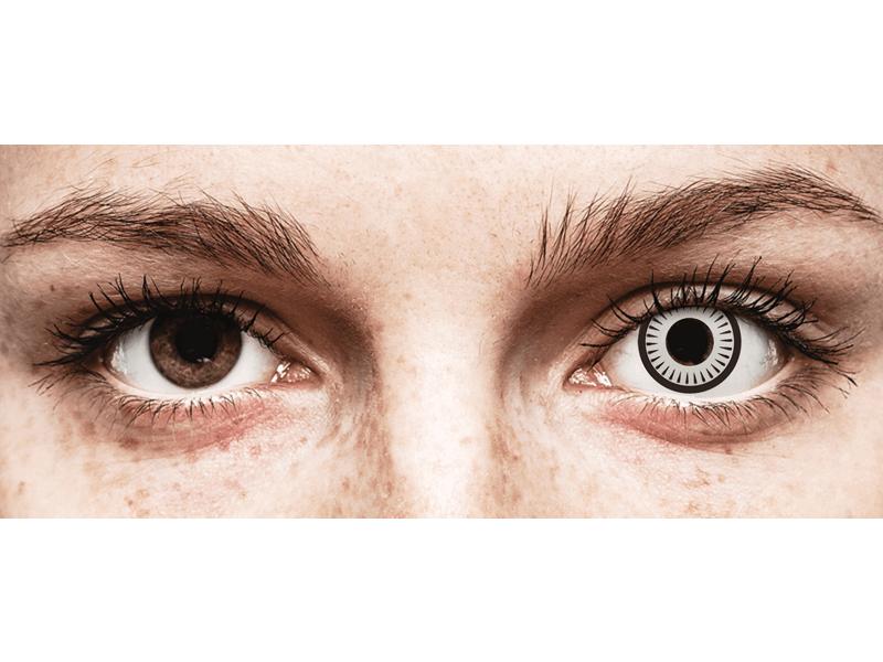 CRAZY LENS - Byakugan - jednodnevne leće bez dioptrije (2 kom leća)