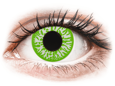CRAZY LENS - Joker - jednodnevne leće dioptrijske (2 kom leća)