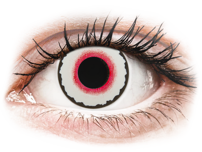 CRAZY LENS - Mad Clown - jednodnevne leće dioptrijske (2 kom leća)