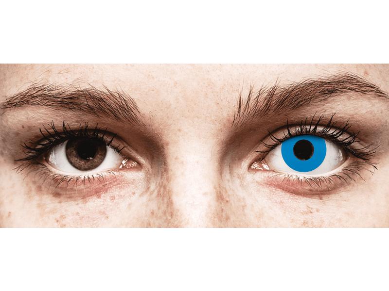 CRAZY LENS - Sky Blue - jednodnevne leće bez dioptrije (2 kom leća)
