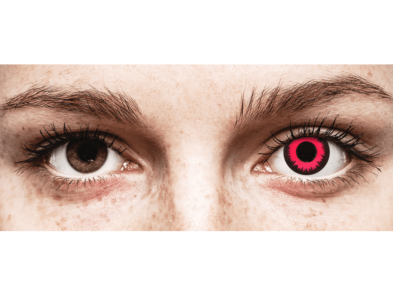 CRAZY LENS - Vampire Queen - jednodnevne leće dioptrijske (2 kom leća)