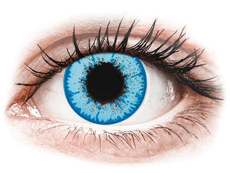 CRAZY LENS - Night King - jednodnevne leće bez dioptrije (2 kom leća) - Kontaktne leće u boji