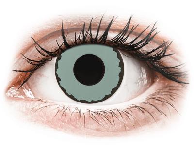 CRAZY LENS - Zombie Virus - jednodnevne leće bez dioptrije (2 kom leća)