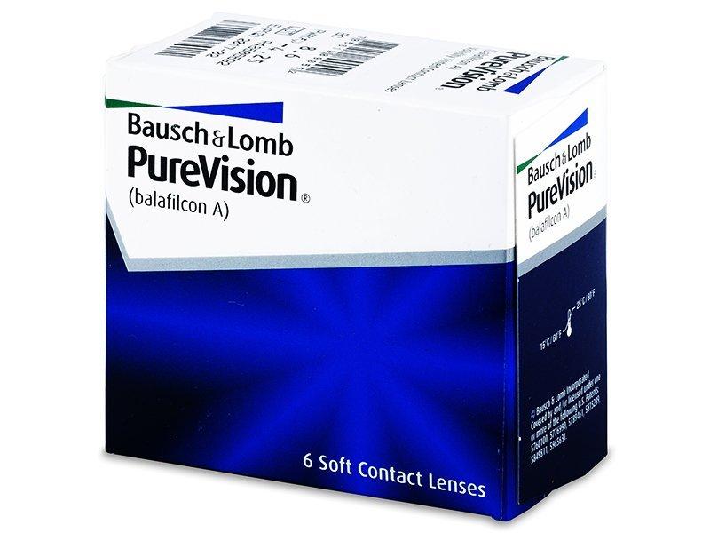 PureVision (6komleća) - Mjesečne kontaktne leće