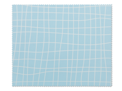 Krpica za čišćenje naočala - plava mreža