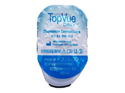 TopVue Daily (90 komleća) - Pregled blister pakiranja