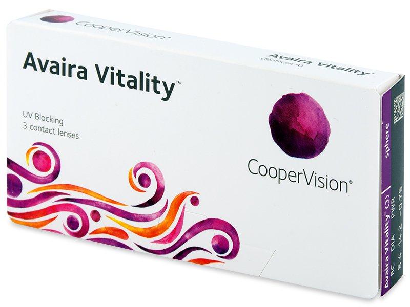 Avaira Vitality (3 kom leća) - Contact lenses