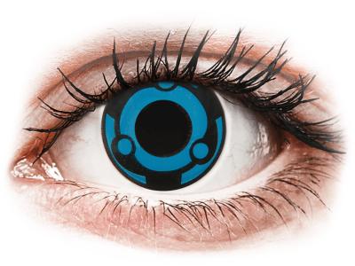 CRAZY LENS -  Vision - jednodnevne leće bez dioptrije (2 kom leća)
