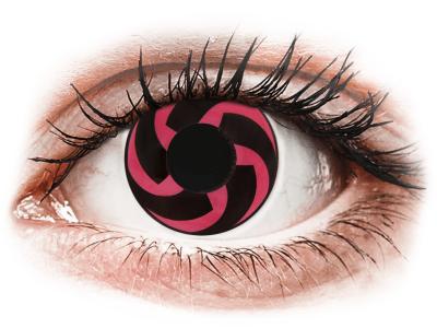 CRAZY LENS - Haku - jednodnevne leće bez dioptrije (2 kom leća)
