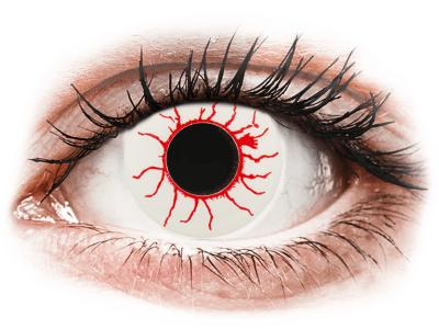 CRAZY LENS - Red Viper - jednodnevne leće bez dioptrije (2 kom leća)