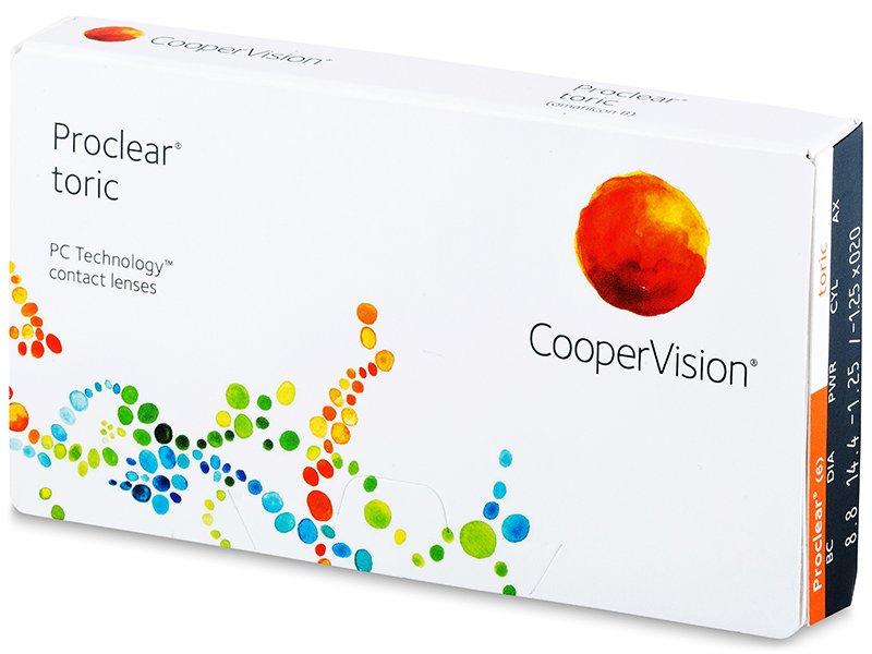 Proclear Toric (3 komleća) - Torične kontaktne leće