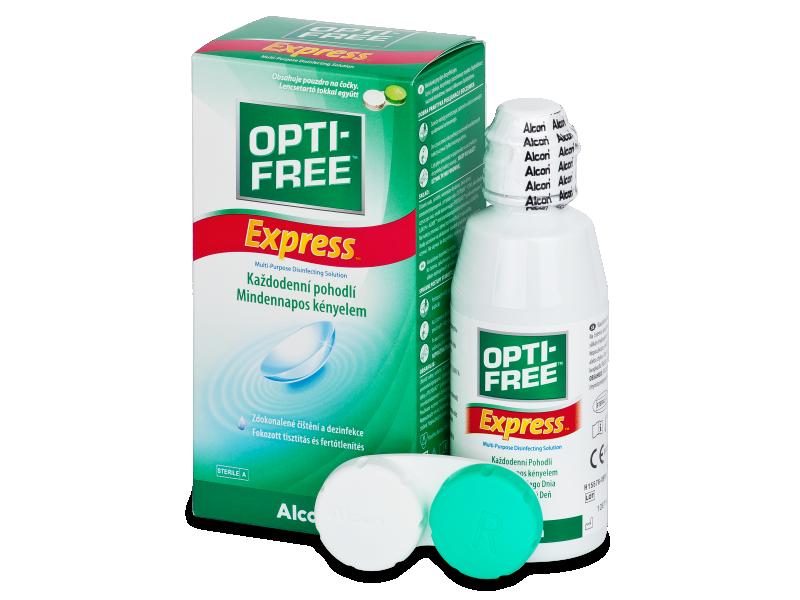 Otopina OPTI-FREE Express 120ml  - Otopina za čišćenje