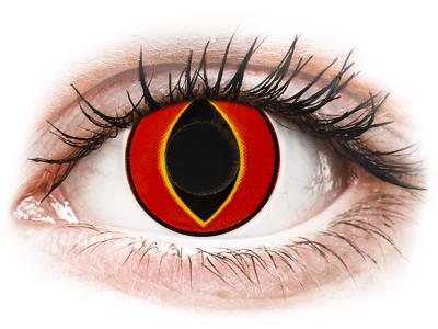 ColourVUE Crazy Lens - Mad Frog - bez dioptrije (2 kom leća)