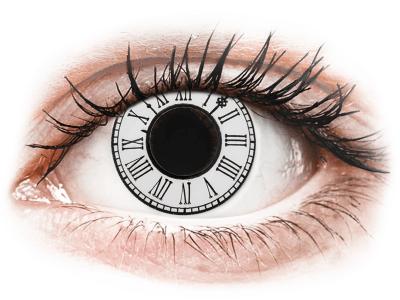 CRAZY LENS - Clock - bez dioptrije (2 kom leća)