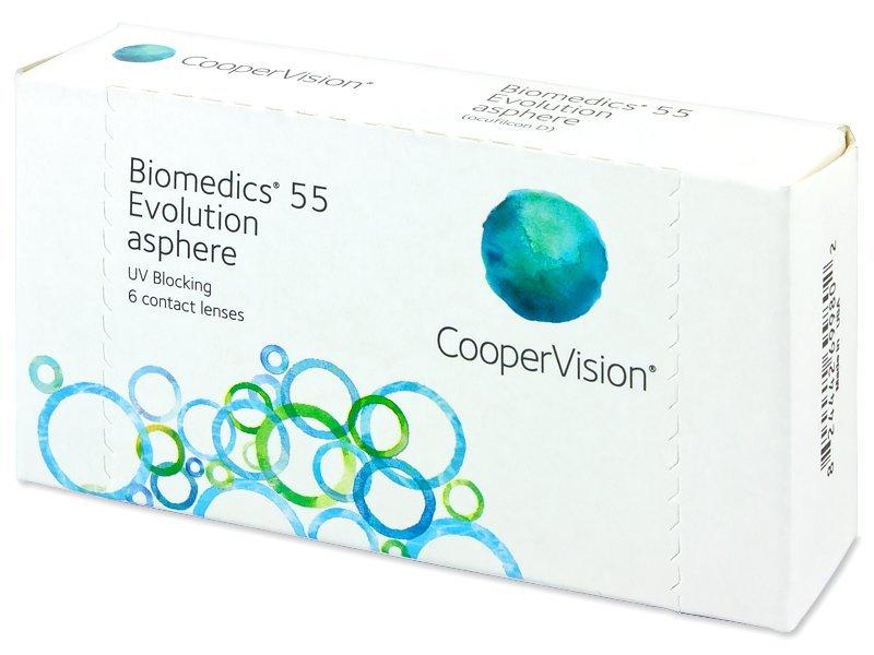 Biomedics 55 Evolution (6komleća) - Mjesečne kontaktne leće