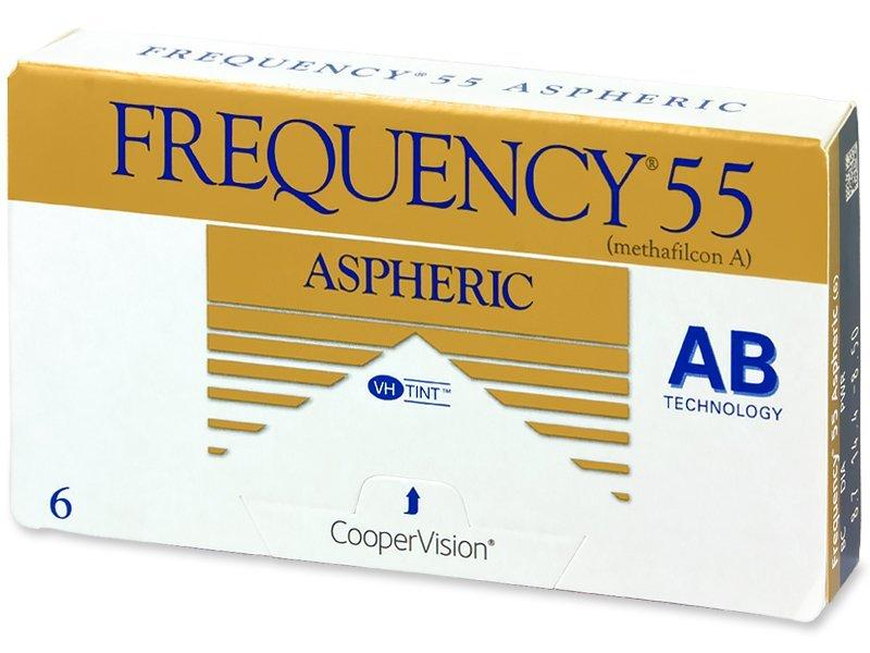 Frequency 55 Aspheric (6komleća) - Mjesečne kontaktne leće