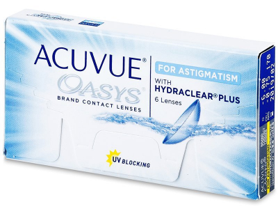 Acuvue Oasys for Astigmatism (6komleća) - Torične kontaktne leće